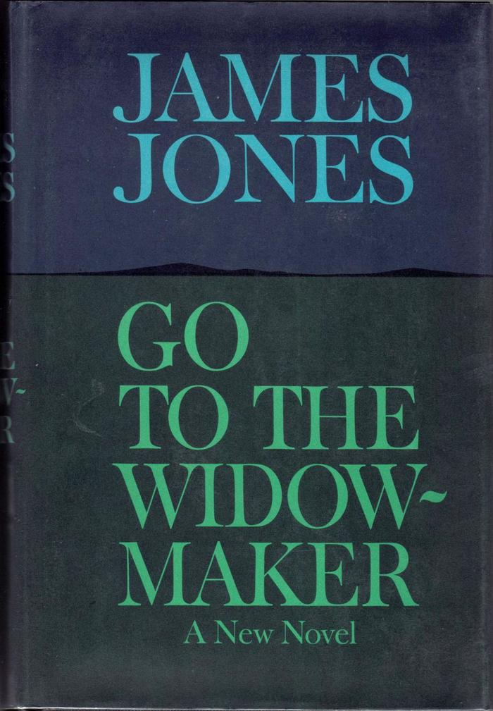 Go to the Widow-Maker, Delacorte first edition 1