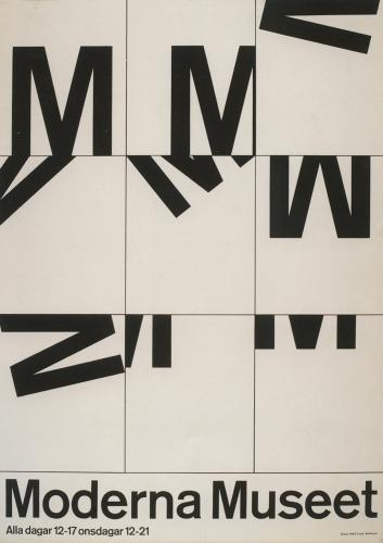 Moderna Museet poster series 1