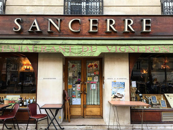 Le Sancerre, Paris