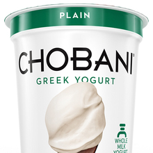 Chobani identity and packaging