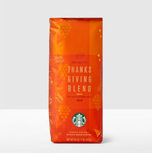 Starbucks coffee beans packaging