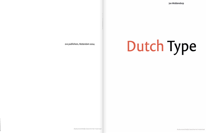 Dutch Type by Jan Middendorp 4