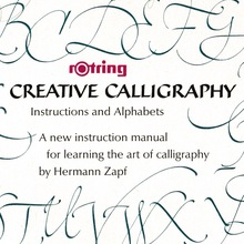 Rotring Creative Calligraphy manual