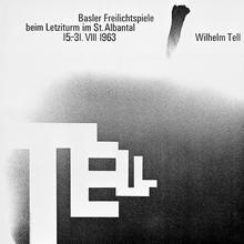 """""""Wilhem Tell"""", Basler Freilichtspiele 1963"""