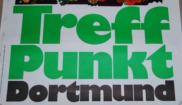 1973 Treffpunkt Dortmund travel poster 3