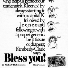 "Kleenex ad: ""Bless you!"""