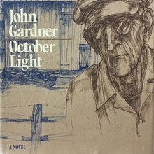 <cite>October Light</cite> by John Gardner