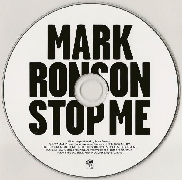 Mark Ronson – Version album art & marketing 7