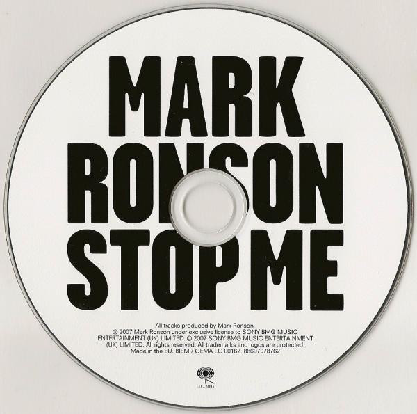 Mark Ronson – Version album art & marketing 7