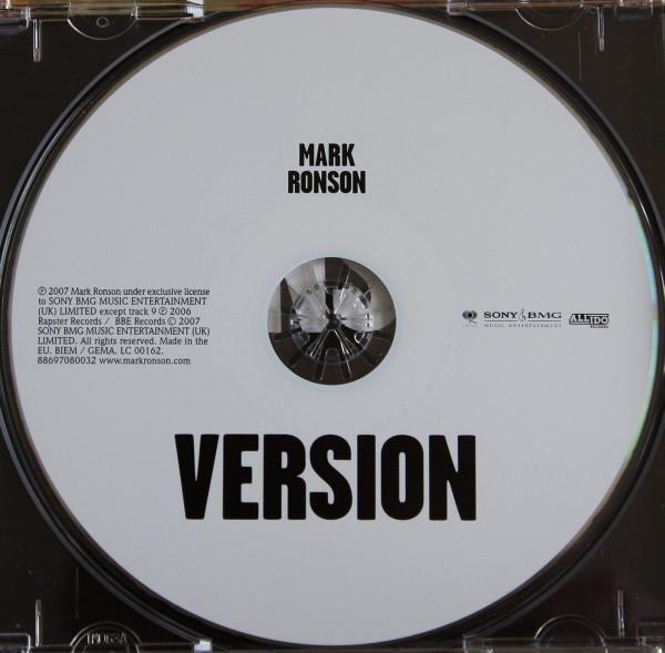 Mark Ronson – Version album art & marketing 3