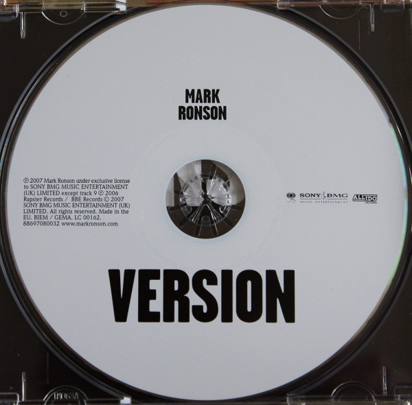 Mark Ronson – Version album art & marketing 3