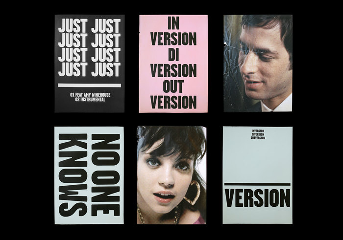 Mark Ronson – Version album art & marketing 12