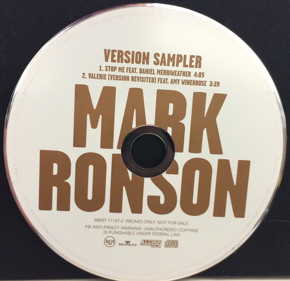 Mark Ronson – Version album art & marketing 5