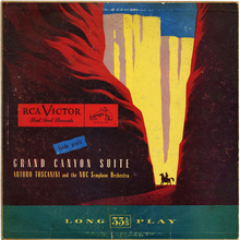 Arturo Toscanini and the NBC Symphony Orchestra – <cite>Grand Canyon Suite</cite>