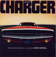 Dodge Charger ad 1970