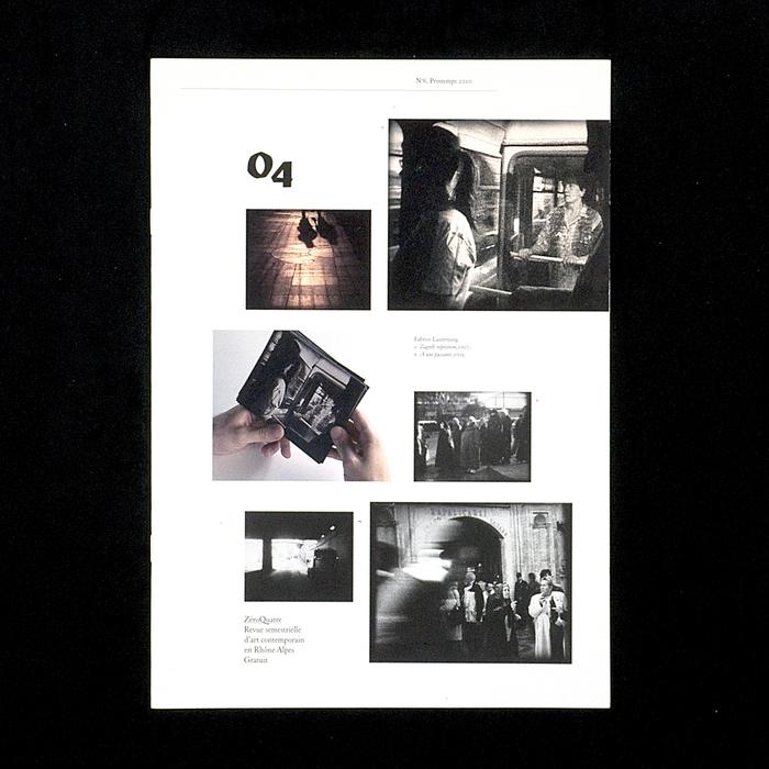 ZéroQuatre, nº6, Printemps 2010 1
