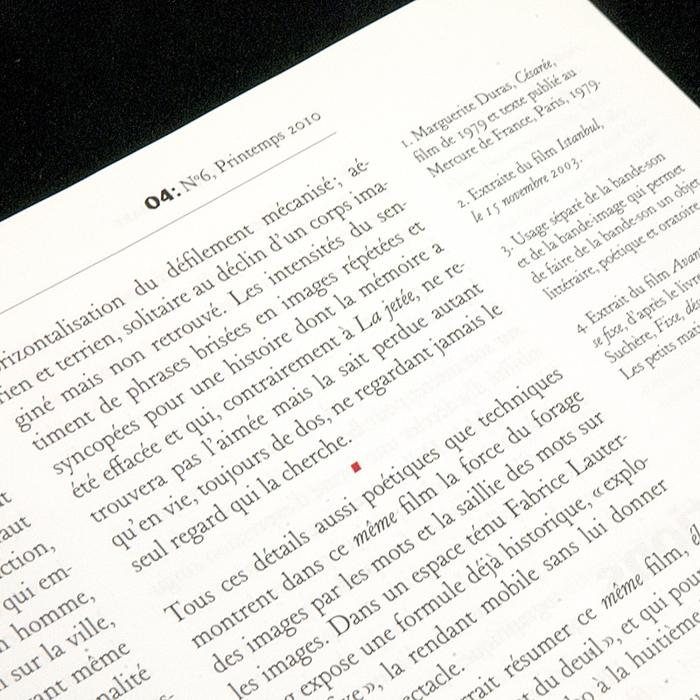 ZéroQuatre, nº6, Printemps 2010 4