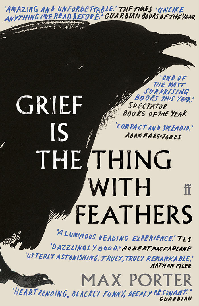 Grief is the Thing with Feathers by Max Porter 2