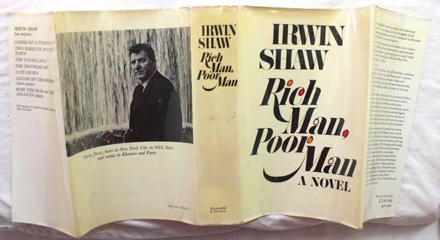 Rich Man, Poor Man, first edition 3