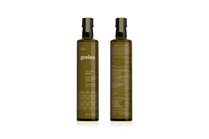 Of the Greek Earth identity and Grelea Olive Oil packaging 3