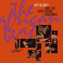 <cite>The African Beat</cite> by Art Blakey and the Afro-Drum Ensemble