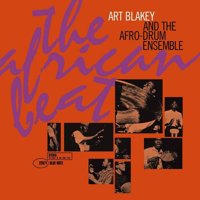 The African Beat by Art Blakey and the Afro-Drum Ensemble
