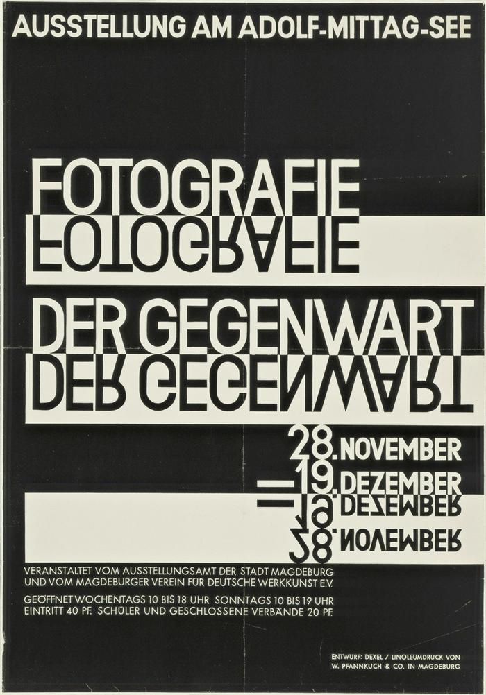 """""""Fotografie der Gegenwart"""" leaflet 2"""