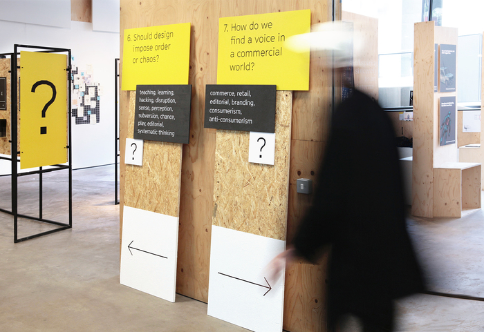 Central Saint Martins BA Graphic Design degree show 1