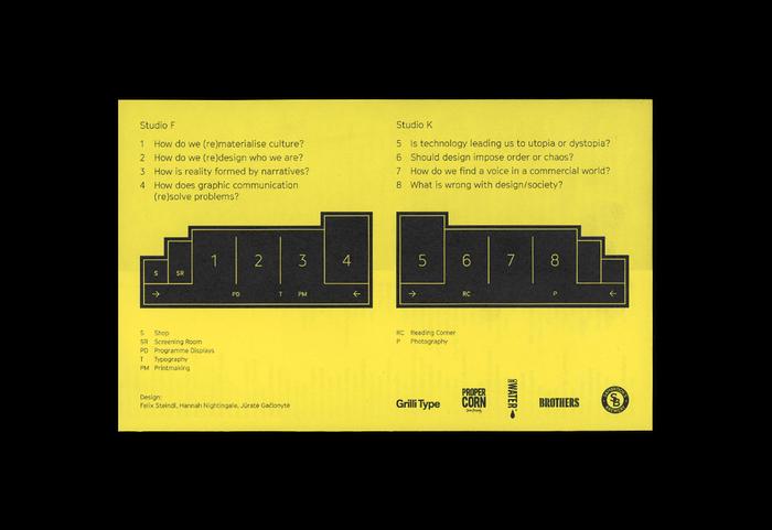 Central Saint Martins BA Graphic Design degree show 6