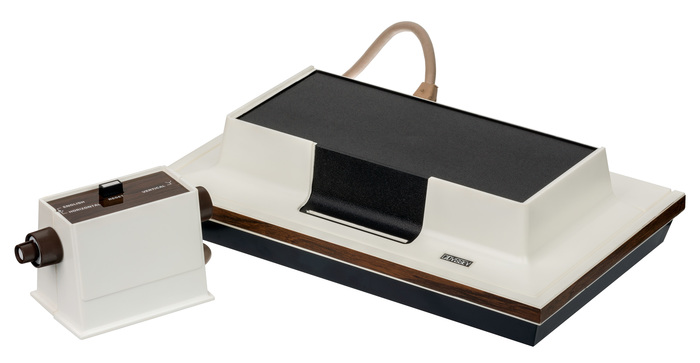 Magnavox Odyssey game console, logo, packaging 2