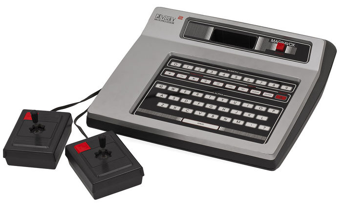 Odyssey², released in 1978.