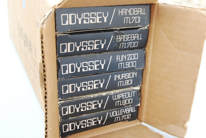 Magnavox Odyssey game console, logo, packaging 6