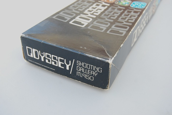 Magnavox Odyssey game console, logo, packaging 8
