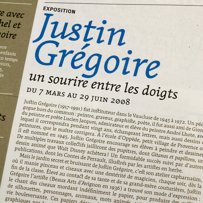 La Lettre du Musée, nº13, janvier 2008 2