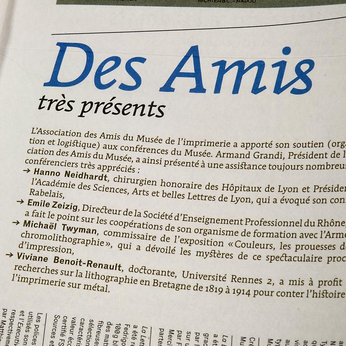La Lettre du Musée, nº13, janvier 2008 3
