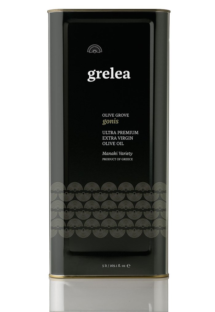 Of the Greek Earth identity and Grelea Olive Oil packaging 10