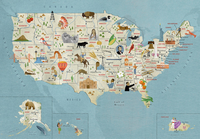 The United States of America, Taschen with National Geographic 5