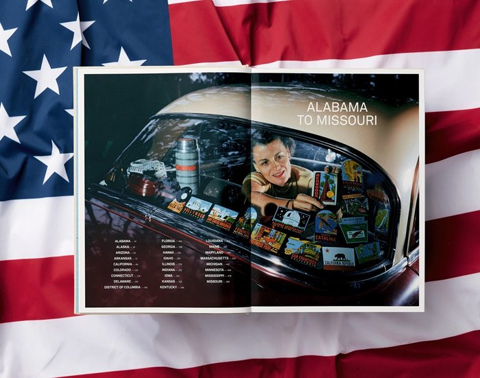 The United States of America, Taschen with National Geographic 2