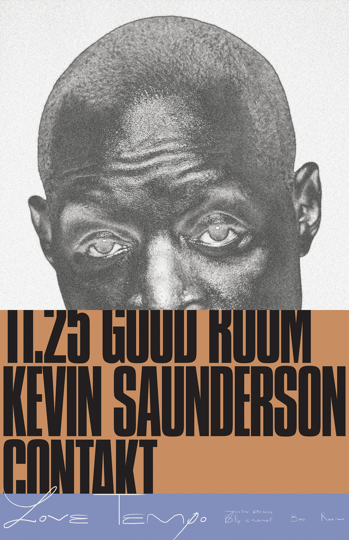 Kevin Saunderson at the Good Room poster