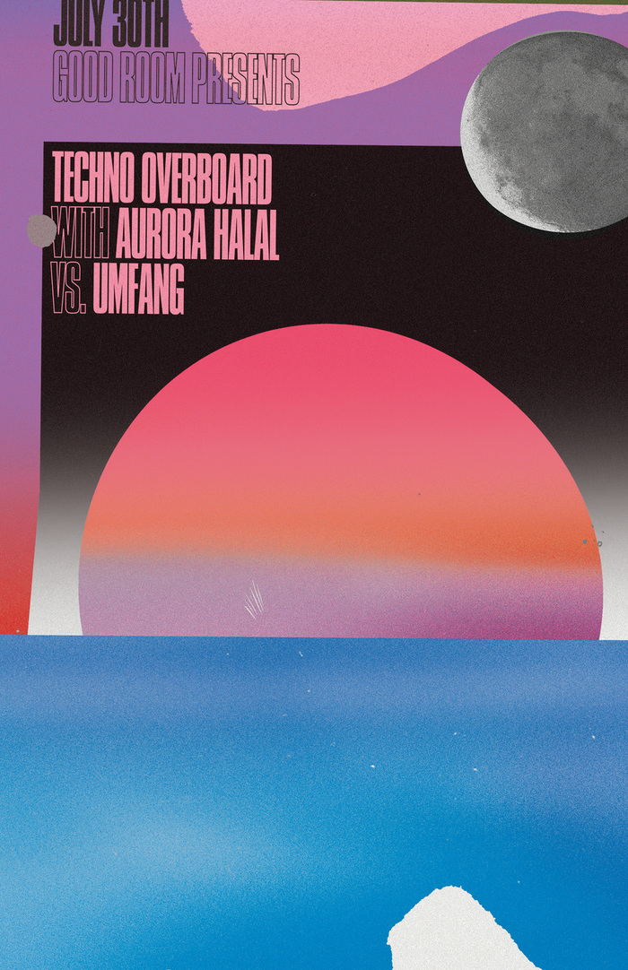 Techno Overboard at the Good Room poster
