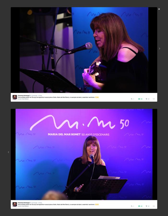 Maria del Mar Bonet: 50 anys d'escenaris 7