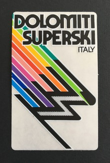 Dolomiti Superski sticker