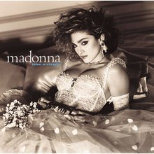 Madonna – <cite>Like A Virgin </cite>album art