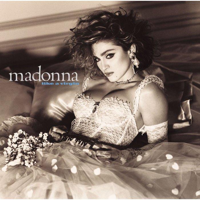 Madonna – Like A Virgin album art 1