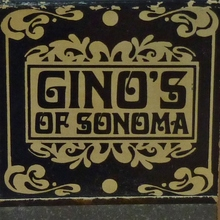 Gino's of Sonoma matchbook