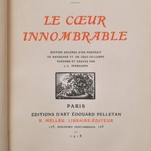 <cite>Le Cœur innombrable</cite> by Anna de Noailles