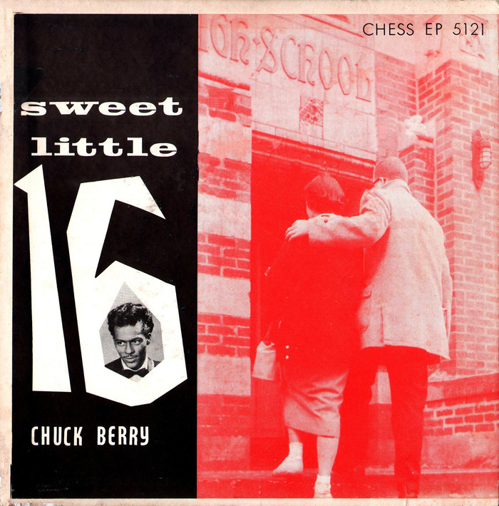 Sweet Little Sixteen EP by Chuck Berry 1