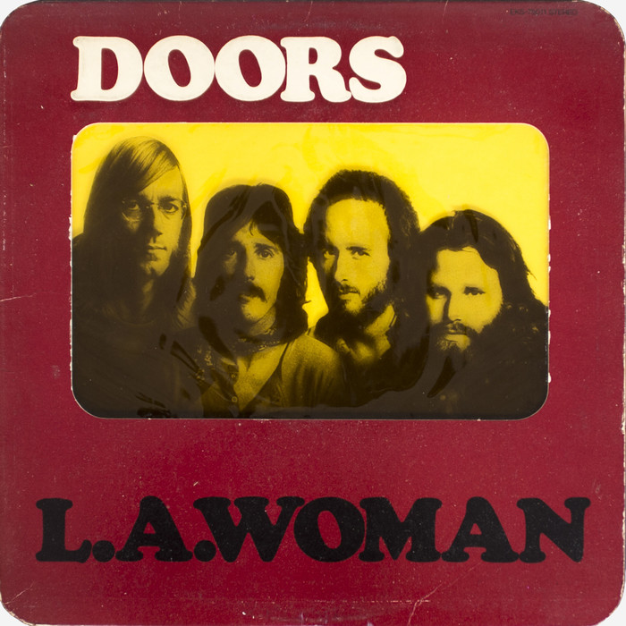 The Doors – L.A. Woman album art 1