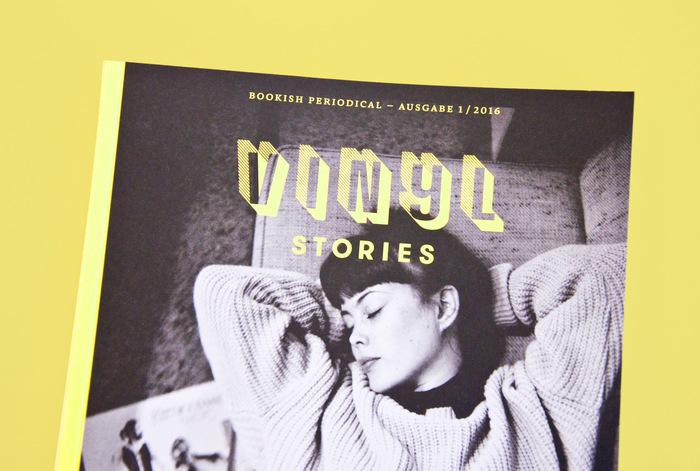 Vinyl Stories magazine 1