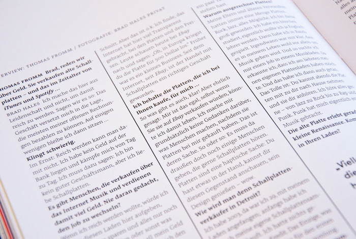 Vinyl Stories magazine 8